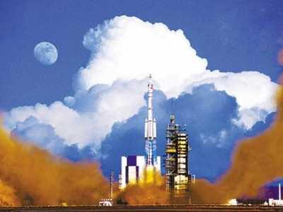 而在内蒙古 酒泉卫星发射中心